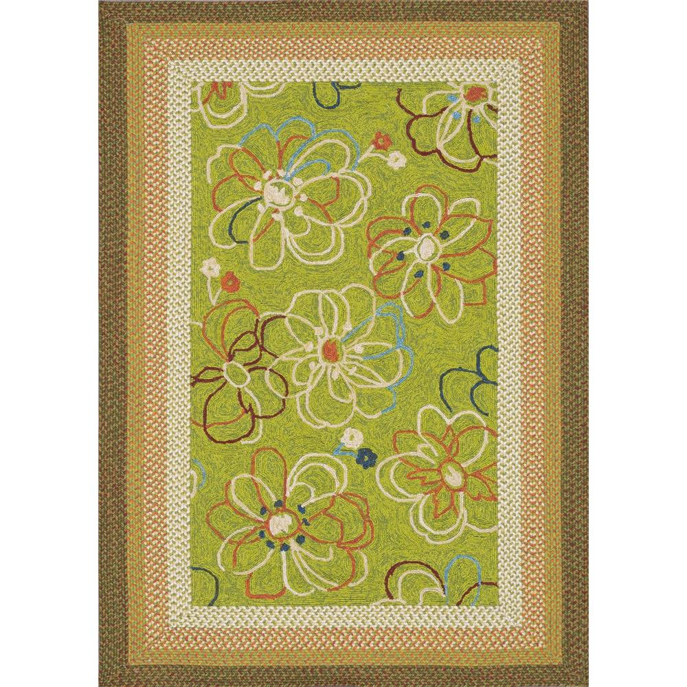 Loloi Rugs ZM-02 Zamora Lime Indoor/Outdoor Area Rug in 2