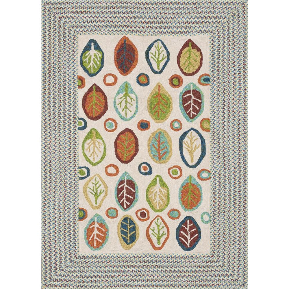 Loloi Rugs ZM-03 Zamora Ivory Indoor/Outdoor Area Rug in 2