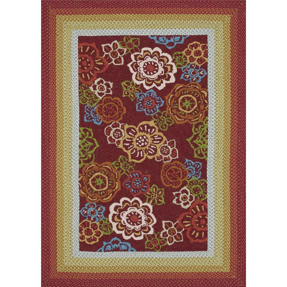 Loloi Rugs ZM-04 Zamora Red Indoor/Outdoor Area Rug in 2