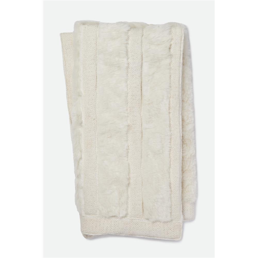 Loloi Rugs T0030 Neva Throw in White