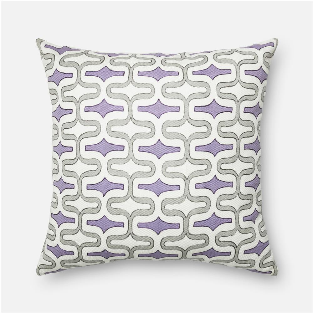 loloi rugs gpi05 dset pillow in eggplant