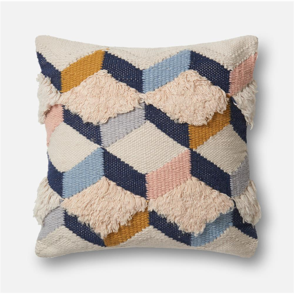 loloi rugs p1027 navy pink pillow