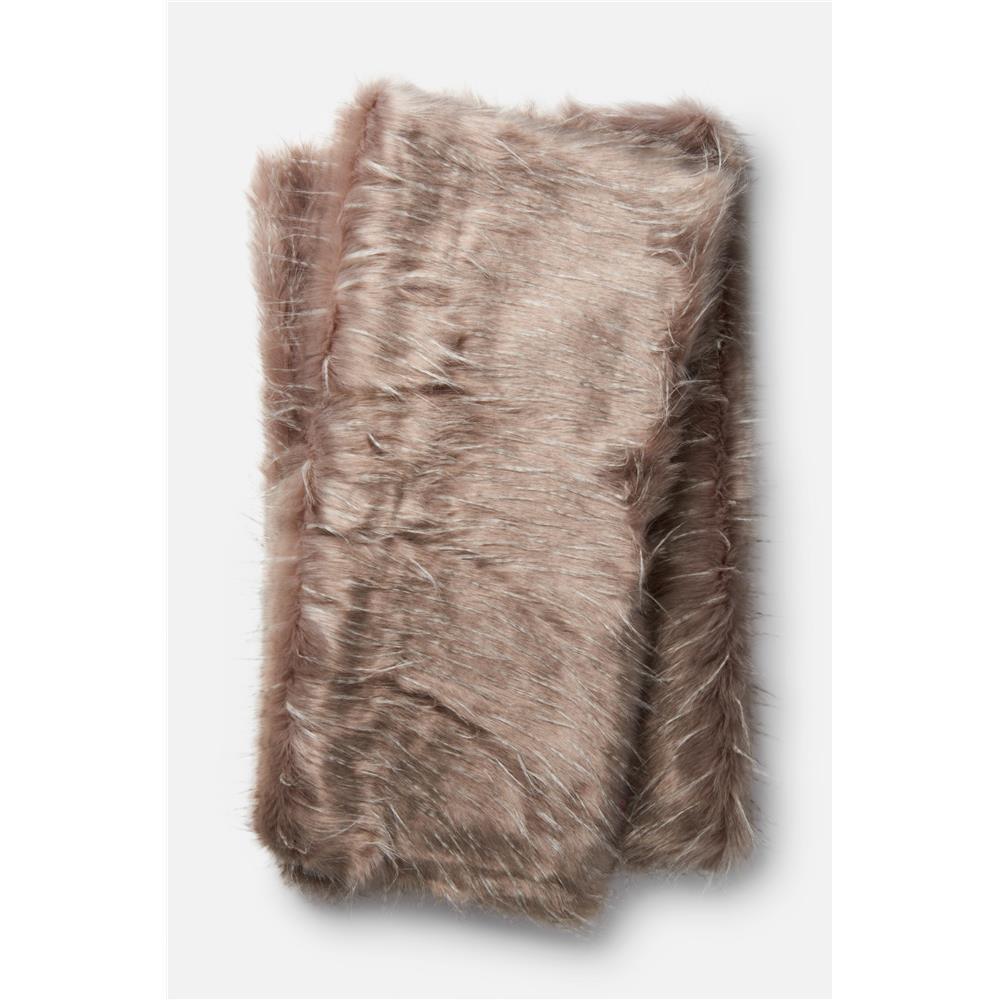Loloi Rugs T0022 Zora Throw in Grey