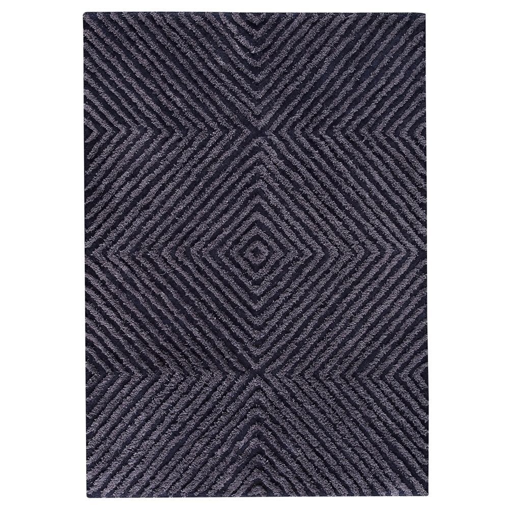 MAT The Basics MTBBUFBLU056071 Hand Tufted in pure new wool and linen Rug in Blue