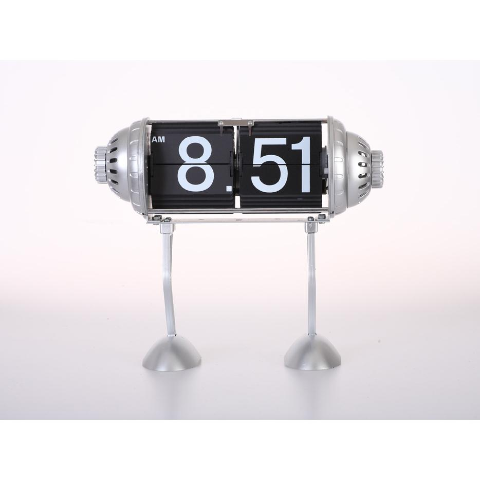 Maples FPB-33B Table Flip Clock - Robot Legs