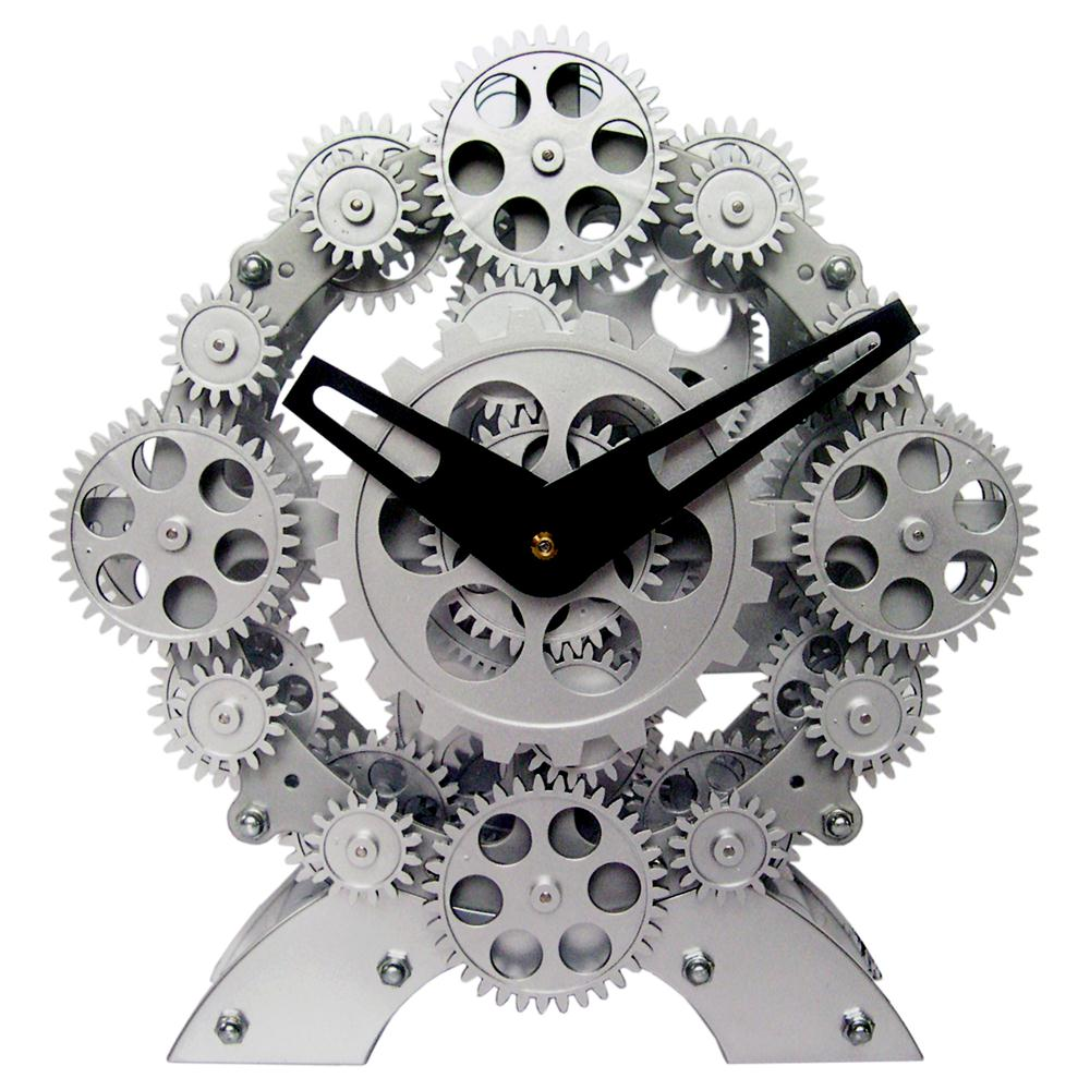 Maples TCL06-333 Moving Gear Table Clock - Numerous Gears