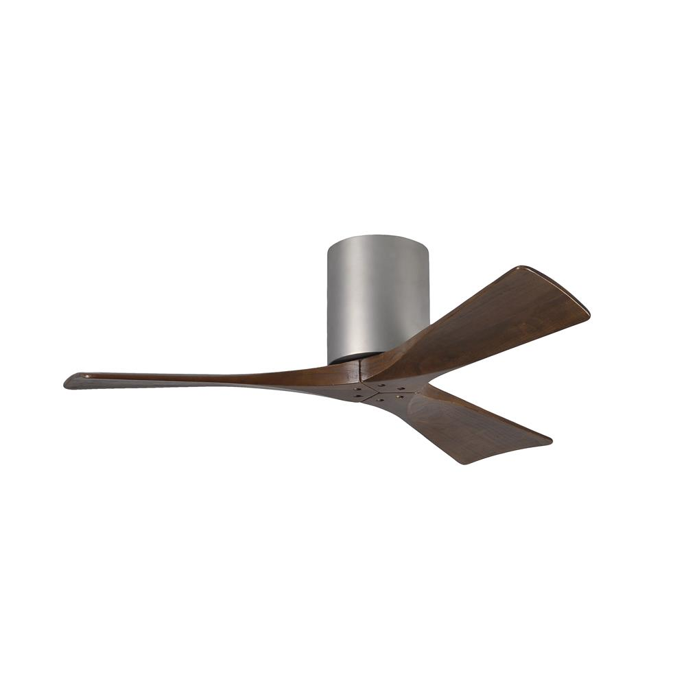 Matthews Fan Company IR3H-BN-42 Irene - 3 Three Bladed Paddle Fan in Brushed Nickel