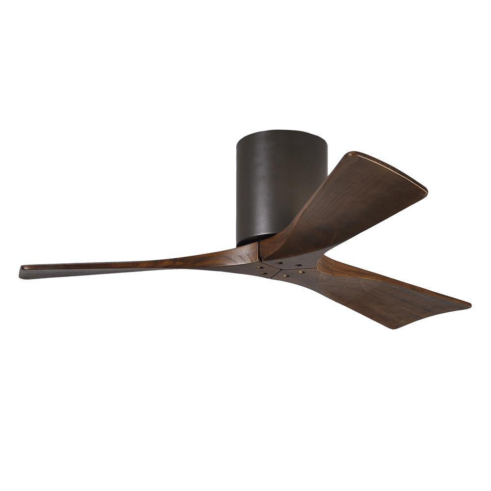 Matthews Fan Company IR3H-TB-42 Irene - 3 Three Bladed Paddle Fan in Textured Bronze