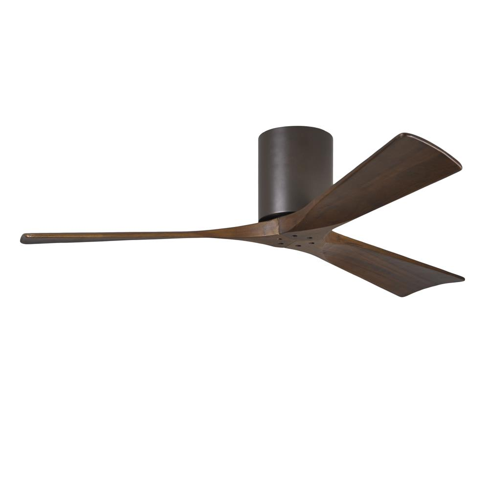 Matthews Fan Company IR3H-TB-52 Irene - 3 Three Bladed Paddle Fan in Textured Bronze