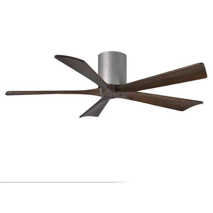 Matthews Fan Company IR5H-BN-52 Irene - 5 Five Bladed Paddle Fan in Brushed Nickel