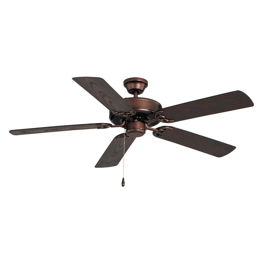 Maxim 89915OI Basic-Max-Outdoor Ceiling Fan in Oil Rubbed Bronze