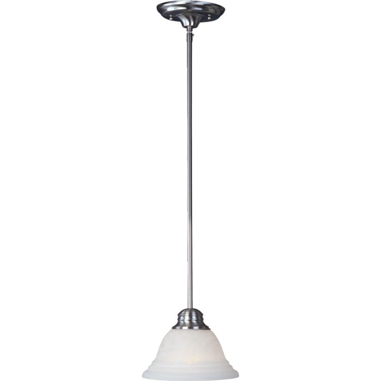 Maxim 91069MRSN Mini Pendants-Mini Pendant in Satin Nickel