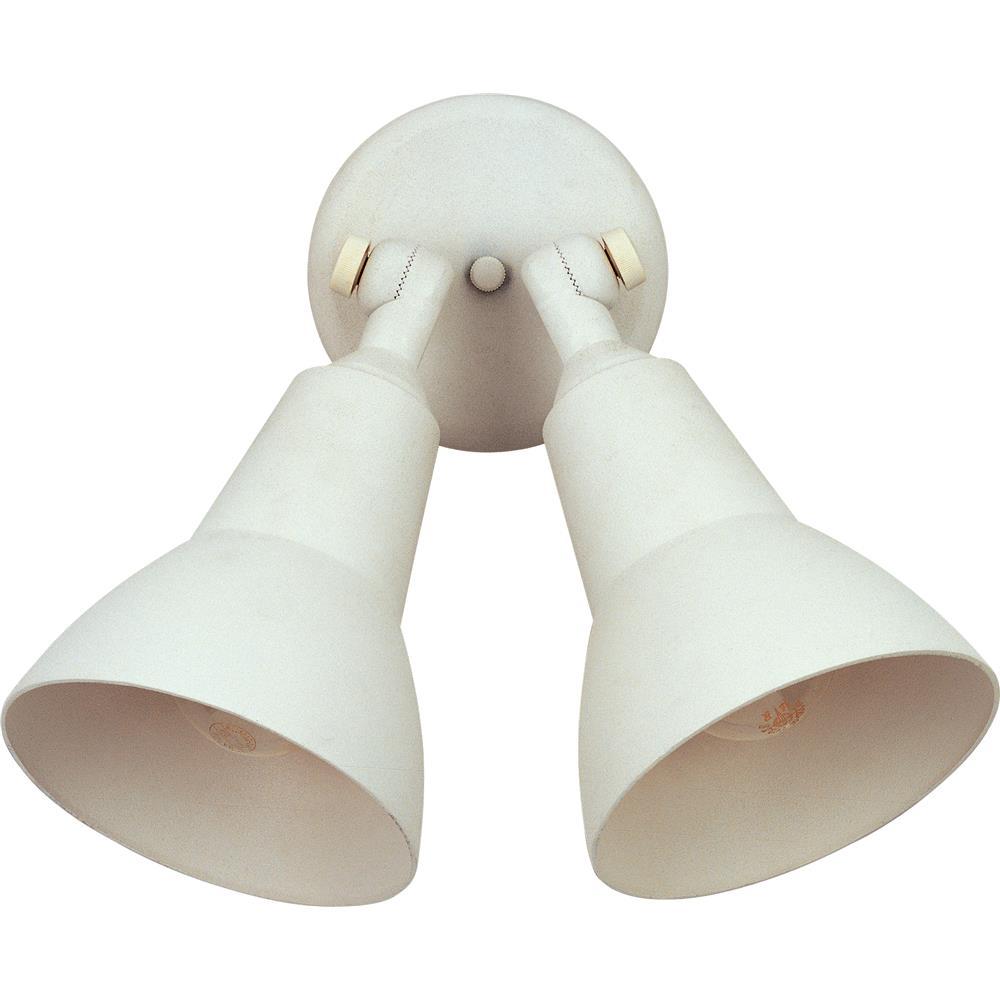 Maxim Lighting 92008WT Outdoor Essentials - 9200x Outdoor Essentials 2-Light Outdoor Wall Mount White
