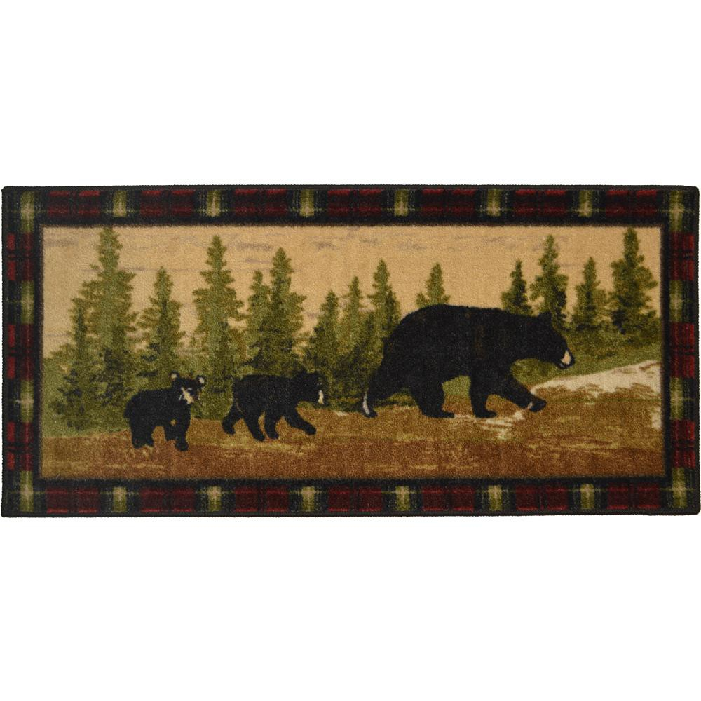 "Mayberry CC5270 COZY CABIN 20""x44"" Cozy Cabin Following Mama"