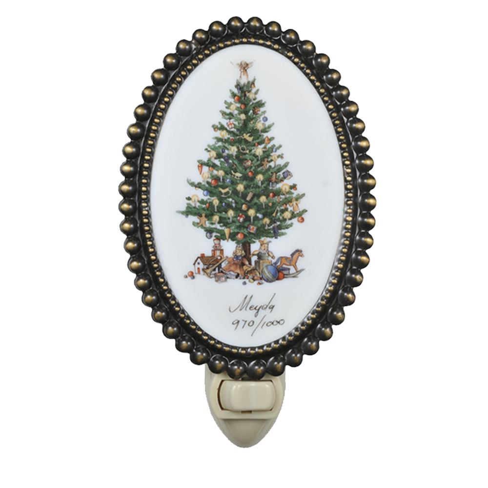 Meyda Tiffany Lighting 107252 Christmas Tree Nite Lite Night Light