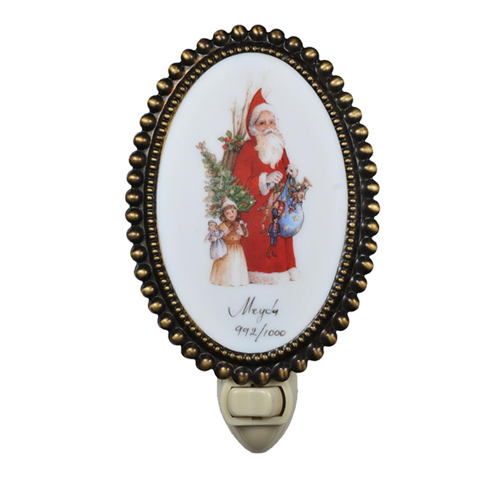 Meyda Tiffany Lighting 107253 Santa Oval Nite Night Light