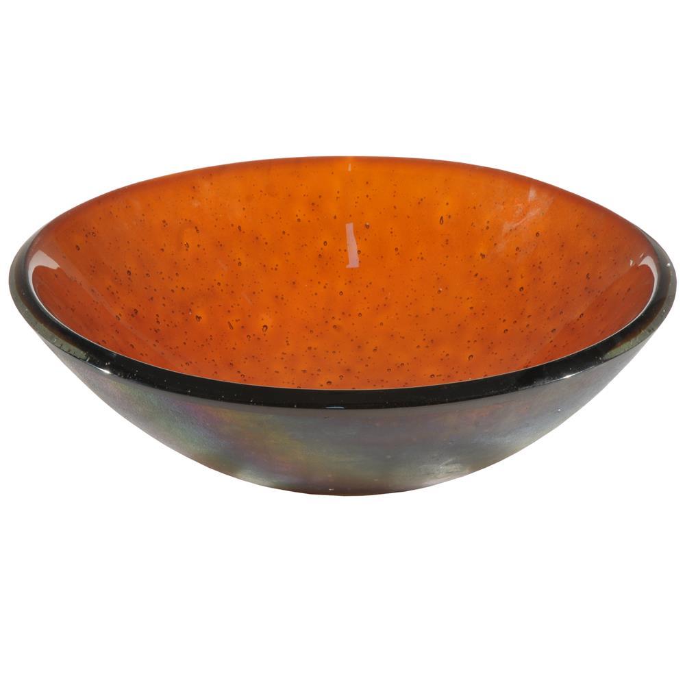 """Meyda Tiffany Lighting 116367 17""""W Ambrosia Fused Glass Sink"""