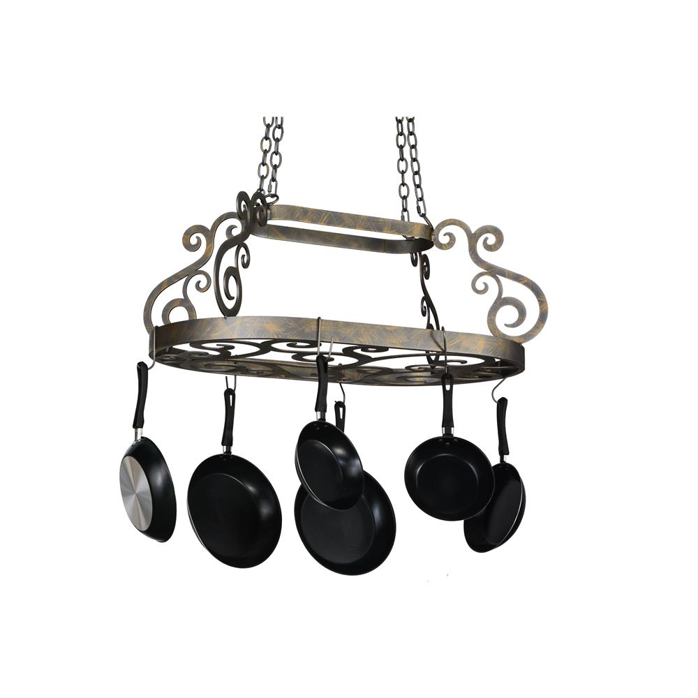 "Meyda Lighting 118361 38""L Neo Pot Rack"