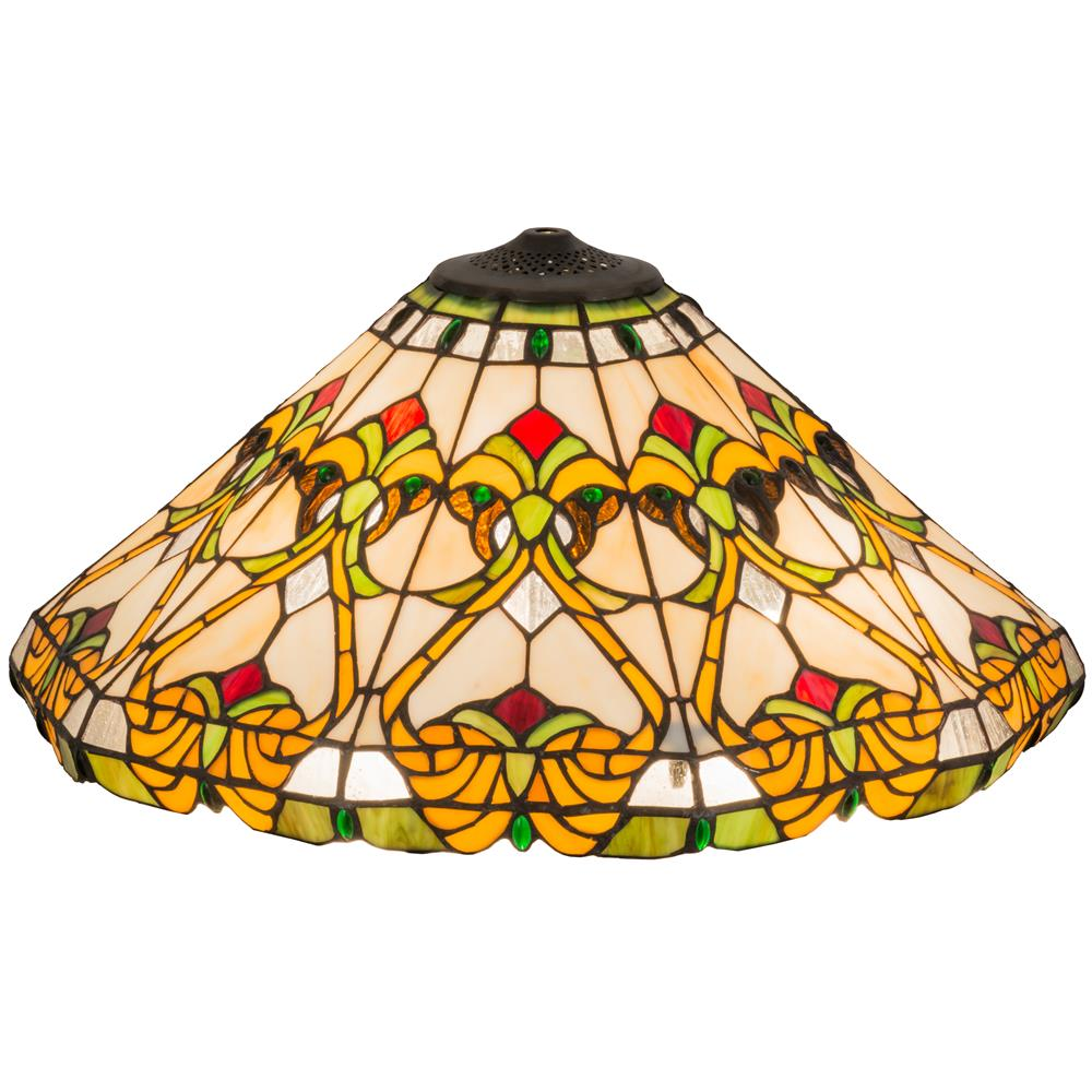 "Meyda Tiffany Lighting 127113 20""W Middelton Replacement Shade"