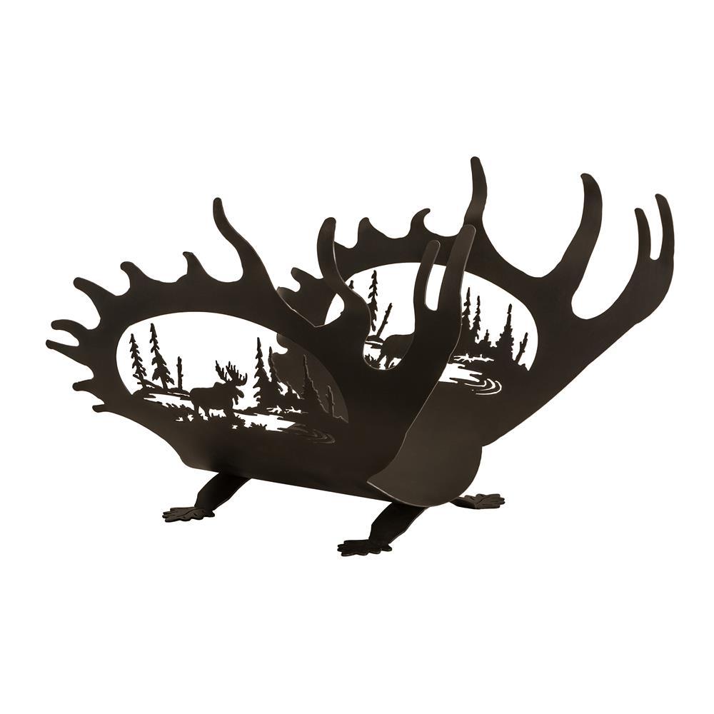 "Meyda Tiffany Lighting 22404 22""L Moose Antler Log Holder"