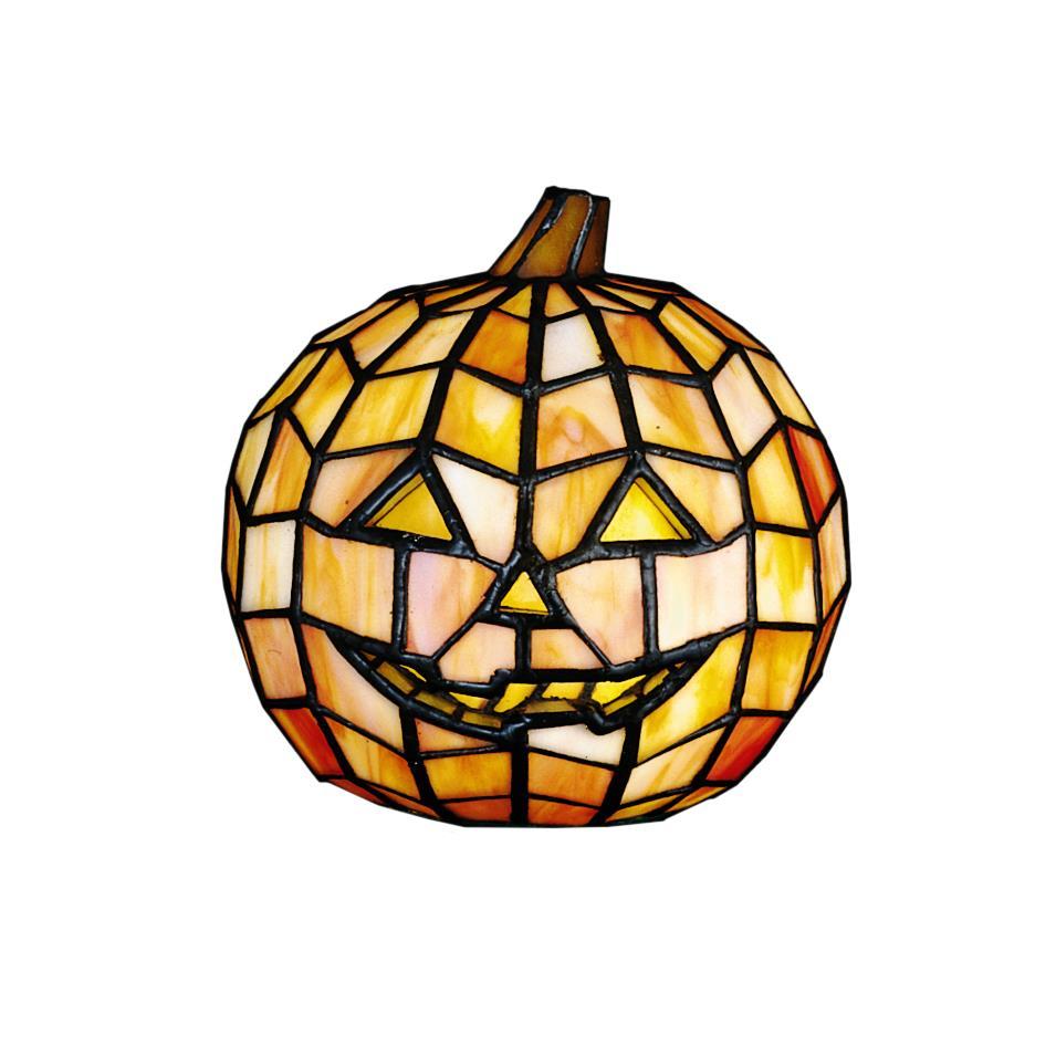 "Meyda Tiffany Lighting 24733 7""H Jack O"