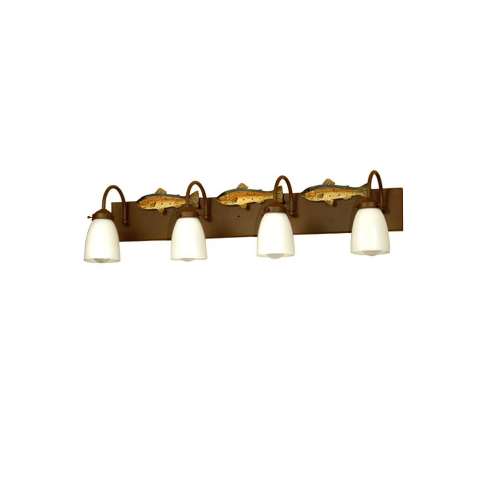 Bathroom Lights Rusting bathroom and vanity lighting color / finish: rust - goinglighting