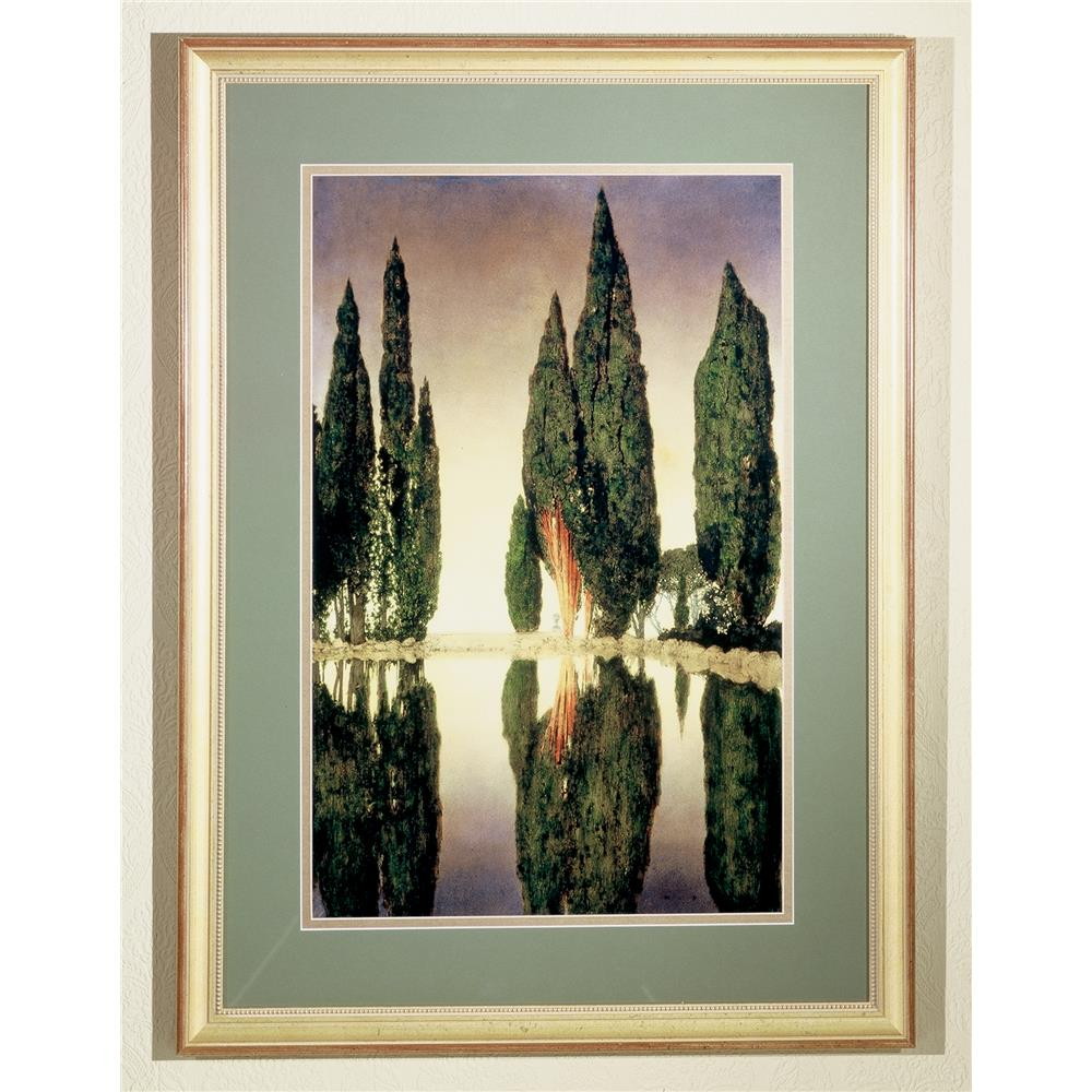 """Meyda Tiffany Lighting 46438 24""""W X 33""""H Maxfield Parrish Reservoir Framed Art"""