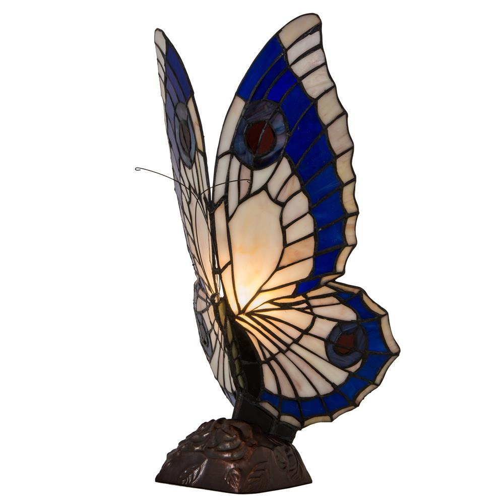 "Meyda Tiffany Lighting 48016 15""H Butterfly Accent Lamp"