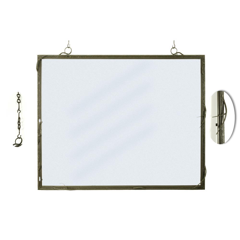 """Meyda Tiffany Lighting 51058 48""""W X 41""""H Branches Mirror Frame"""