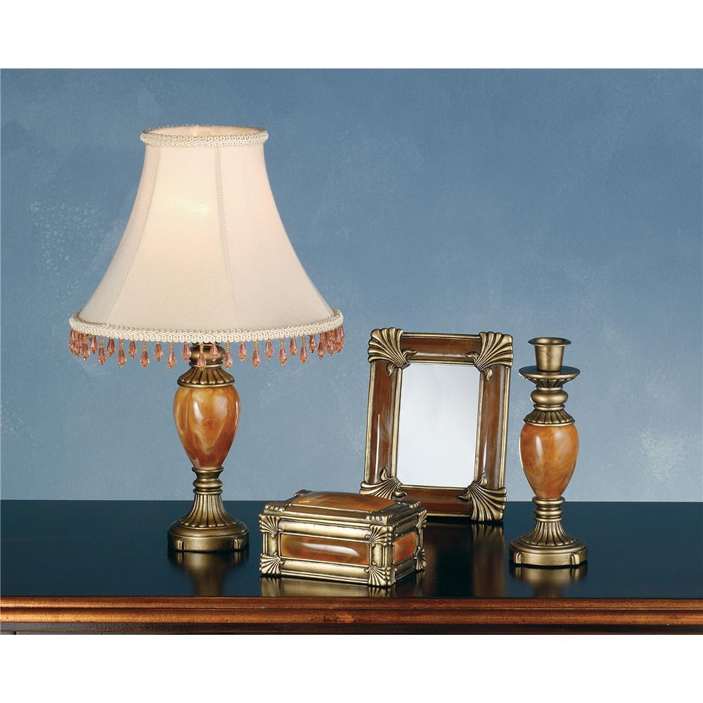 Meyda Tiffany Lighting 69537 Boca Raton 4 Pieces Vanity Set