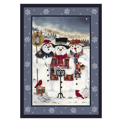 Milliken Holiday Merry Minstrels Rug in Carols-2.8x3.10 Rectangle