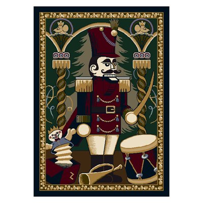Milliken Holiday Nutcracker Rug in Suite-2.8x3.10 Rectangle
