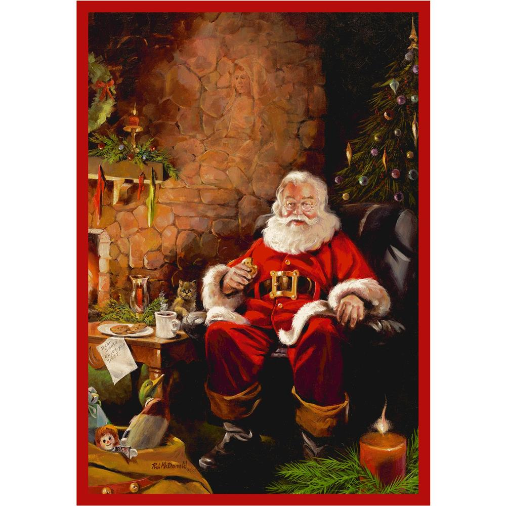 Milliken Holiday Santa Treats Rug in Santa Treats-2.8x3.10 Rectangle
