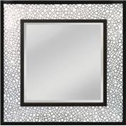 Mirror Masters MM7886-0151 Kemmora Frame Is Constructed Of Hundreds Of Antique Silver Metal Washers