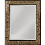 Mirror Masters MW4094C-0031 Tameron This Beveled Mirror Has Appealing Leaf Patterned Frame
