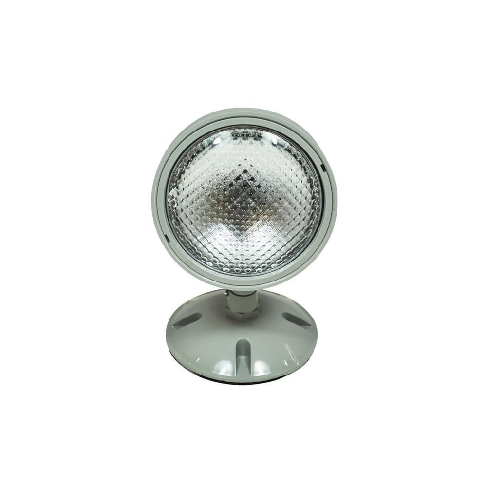 Nora Lighting NE-931 Wet Label Emergency Single Head Remote Grey