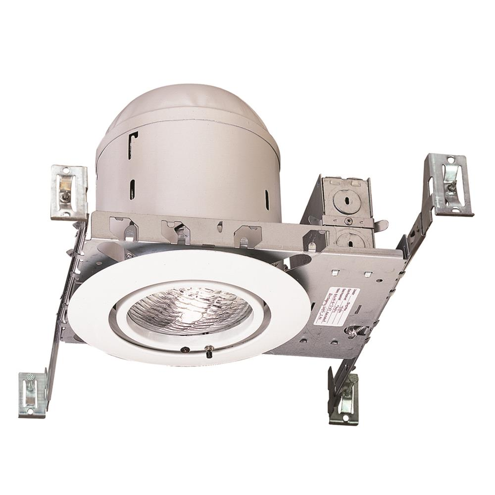 Nora Lighting NEH-826W Emergency New Construction Downlight 6V 15W White