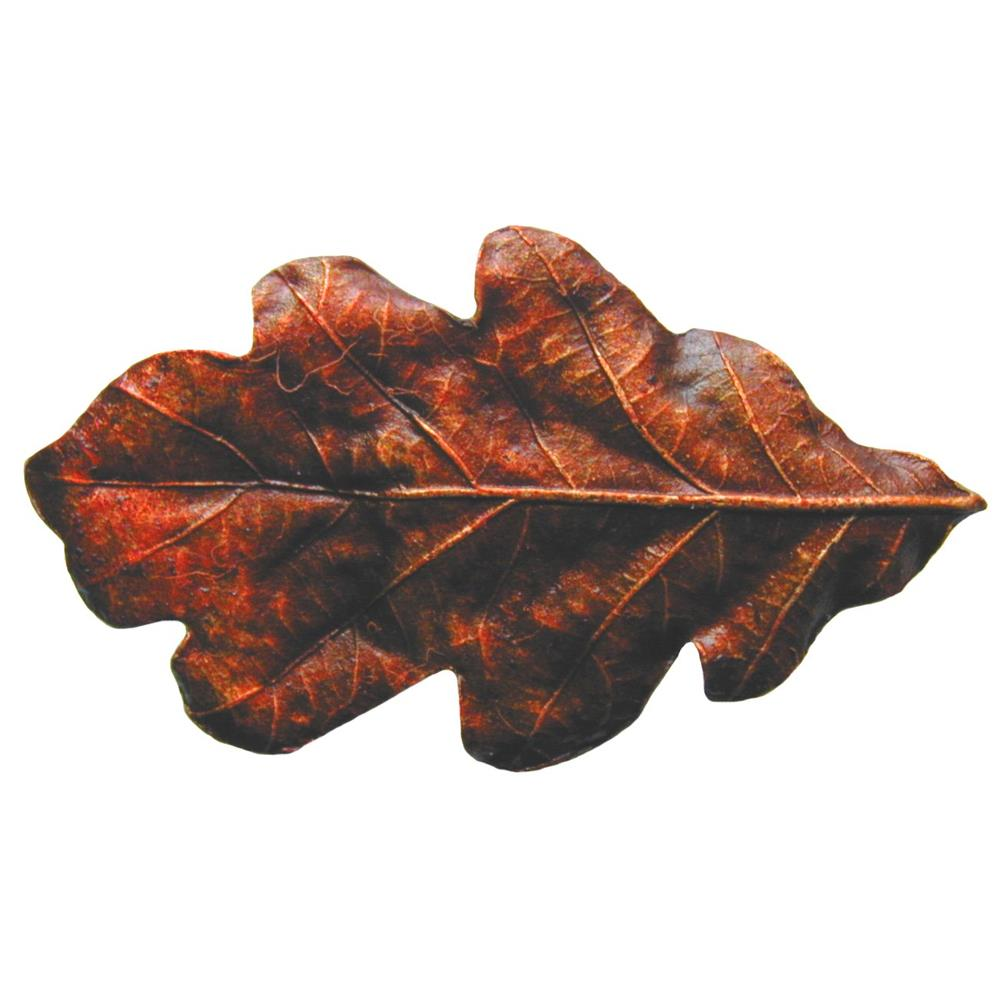 Notting Hill NHK-144-BHT Oak Leaf Knob Hand-tinted Antique Brass