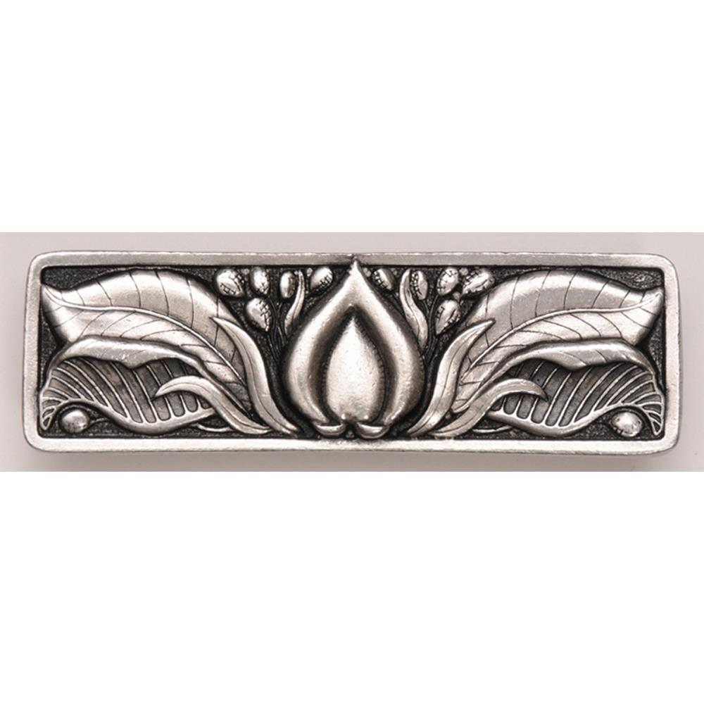 Notting Hill NHP-681-BP Hope Blossom Pull Brilliant Pewter