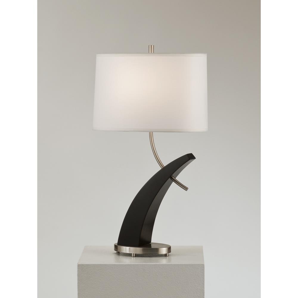 Nova Lamps 1010270 Tusk Table Lamp In Dark Brown