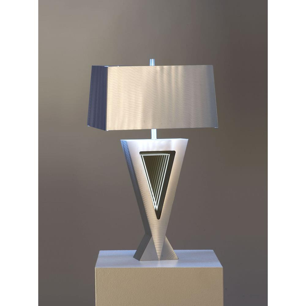 Superb Jon Gilmore Design By Nova Lamps 11589 Vectors Table Lamp In Silver