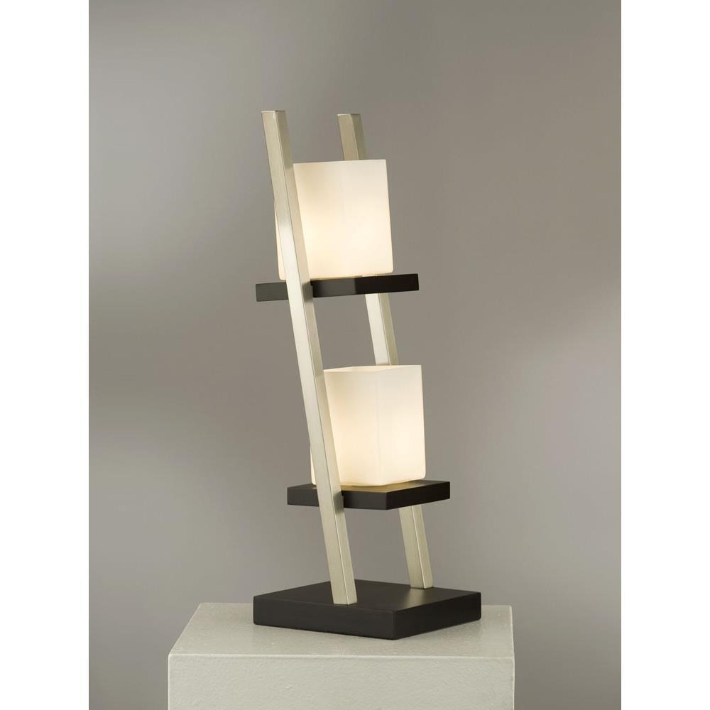 Nova Lamps 11813 Escalier Table Lamp In Dark Brown