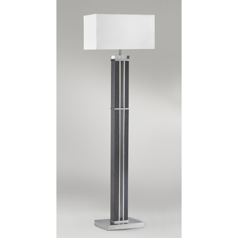 Zebra Floor Lamps : Nova lamps attitude floor lamp in zebra wood goinglighting