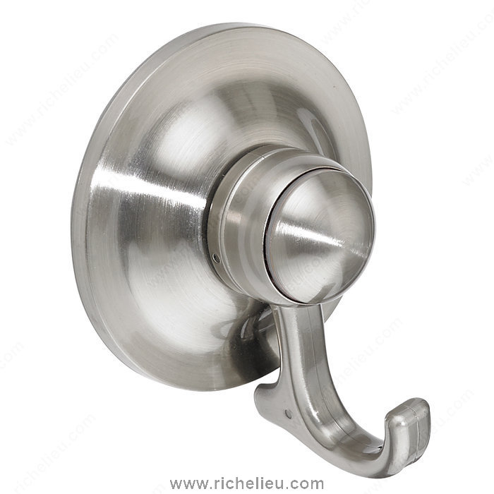Nystrom NB1010549 Suction Cup Hook Bath in Brushed Nickel