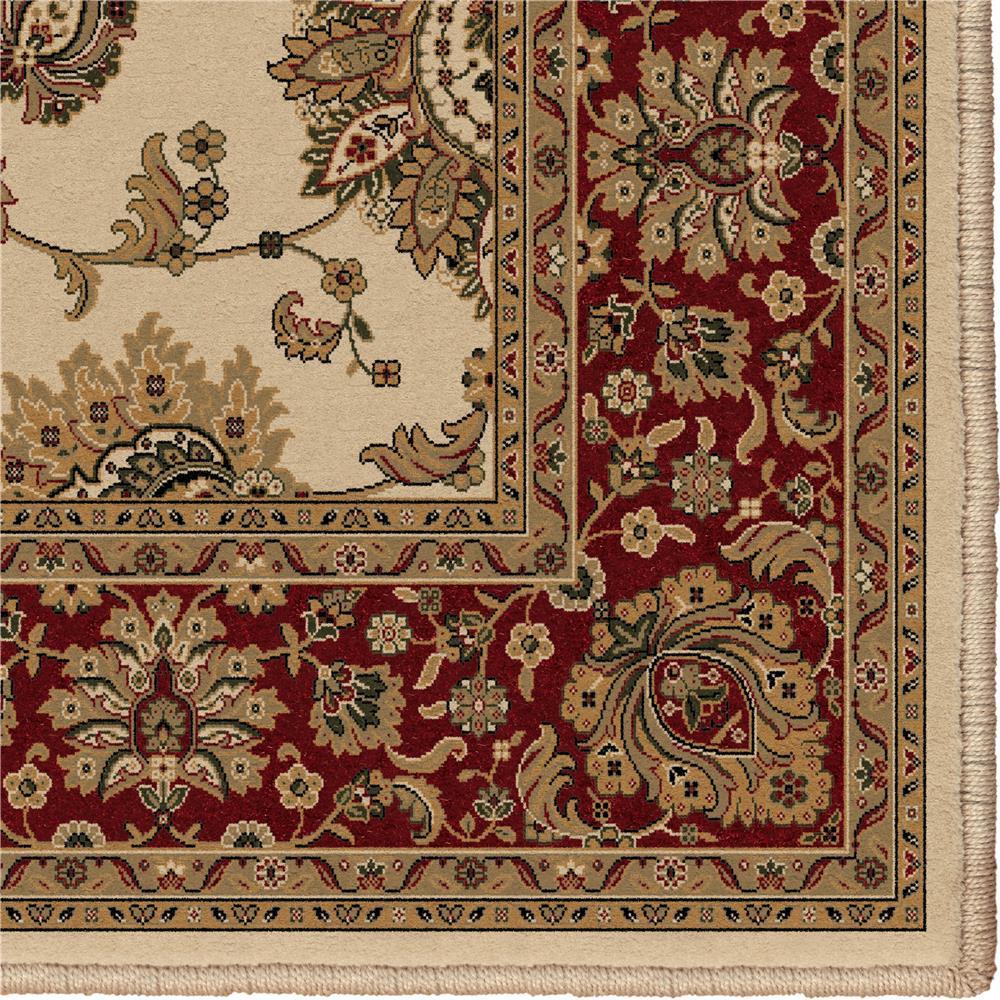 Orian Rugs 1244 2x8  Detailed Design Traditional Borokan Ivory Runner (2