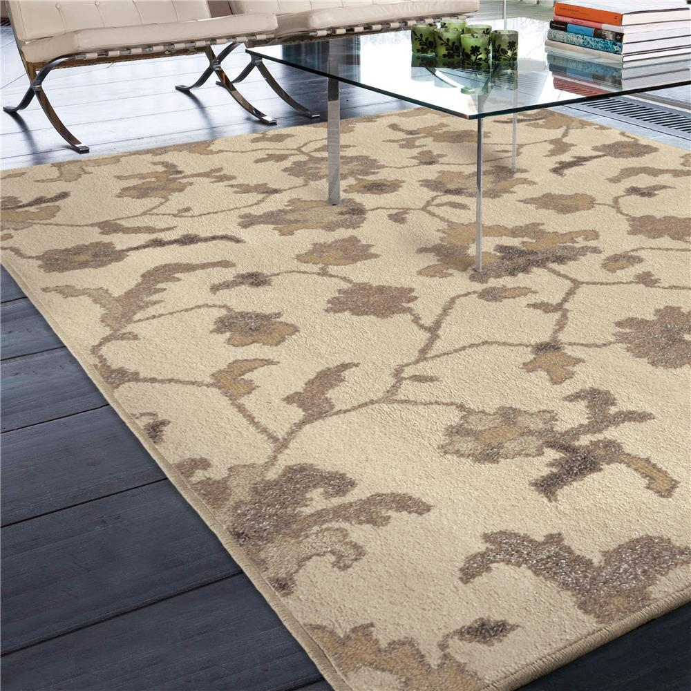 Orian Rugs 4311 5x8  Floral Floral Tantum Ivory Area Rug (5