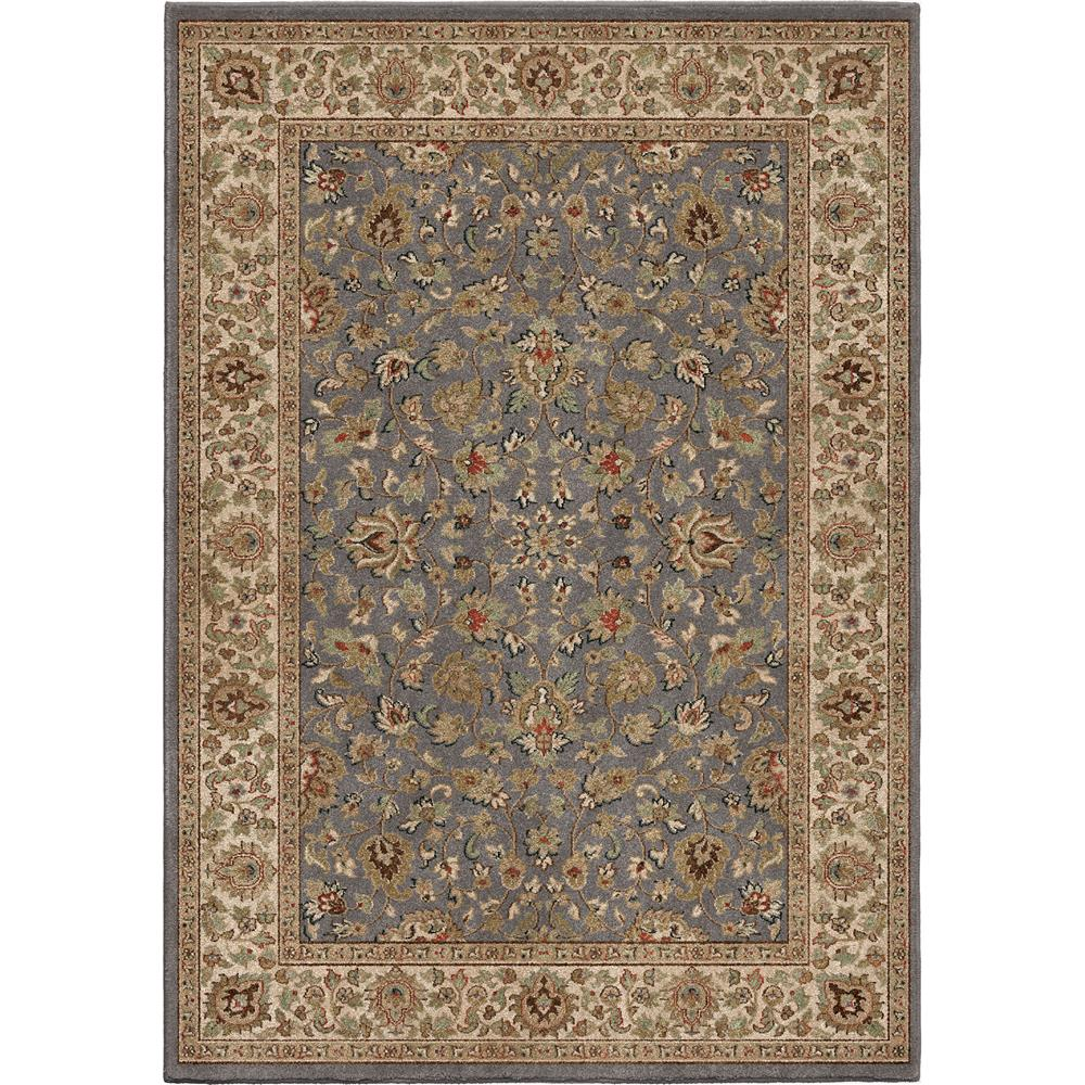 Orian Rugs 3212 5x8  Insanely Soft Oriental Julie Anne Gray Area Rug (5