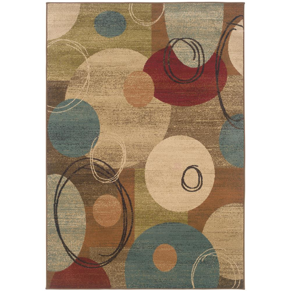 Oriental Weavers 2279A Emerson Gold 1.10 X  3. 3 Area Rug