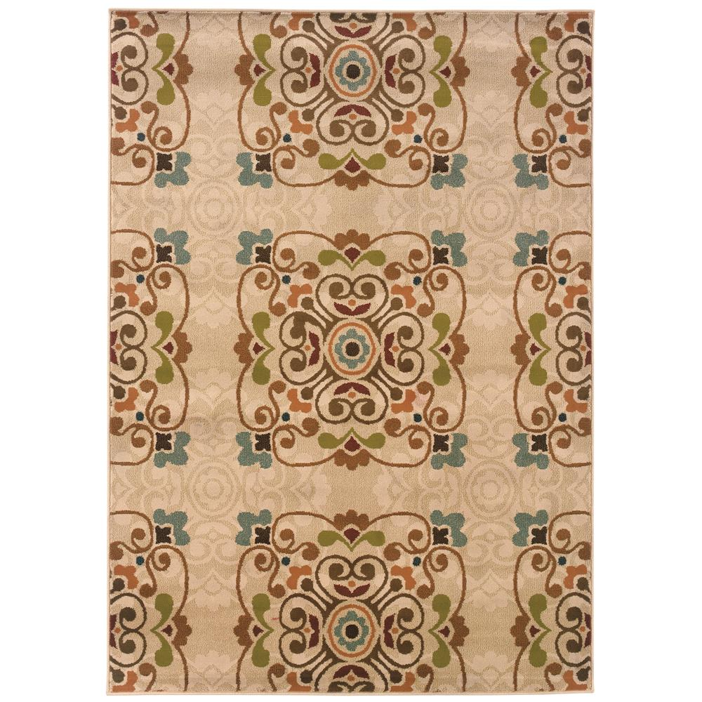 Oriental Weavers 2818B Emerson Gold 1.10 X  7. 6 Area Rug