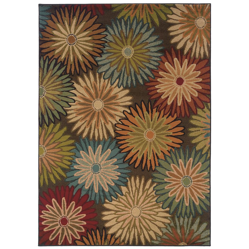 Oriental Weavers 2820A Emerson Charcoal 1.10 X  3. 3 Area Rug